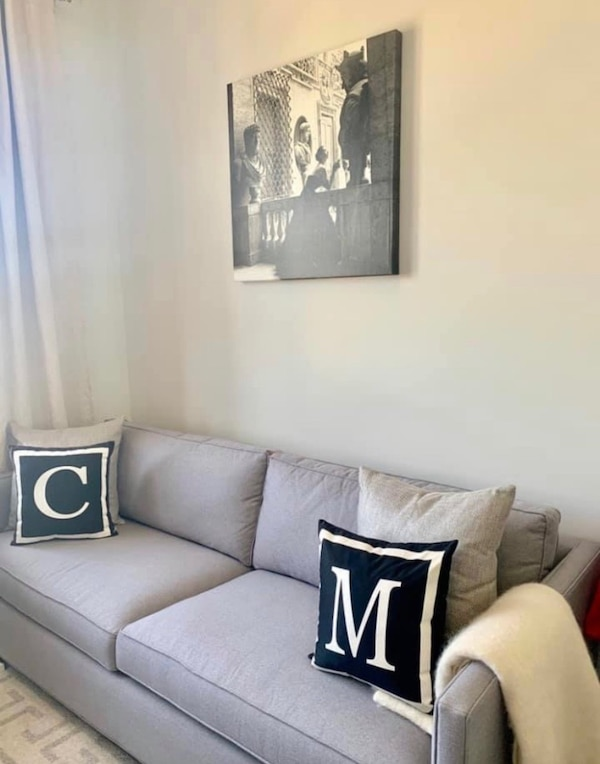 Used Crate Barrel Dryden Apartment Sofa Gray For Sale In Chicago