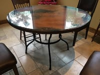 "Copper Table 48"" Round Thousand Oaks, 91320"