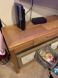 Desk/table with medium and small side tables matching lane Bryant