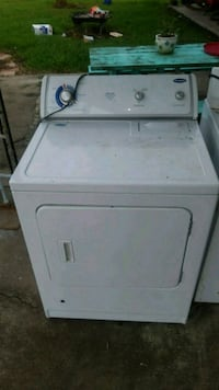 white front-load clothes dryer Houma, 70364