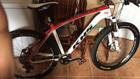 white and red KHS 650 hardtail mountain bike Cambridge, N1T 2J5