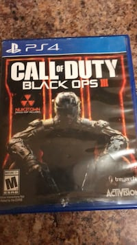 Call of duty black ops 3  ps4 perfect condition Toronto, M1L