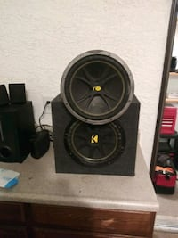 2 -12 inch kicker comp. Subwoofers and a 12 inch Sony xplode sub