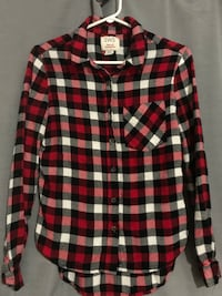 Red, Black & White Flannel