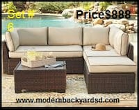 patio furniture SPRINGVALLEY