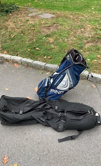 Ping Latitude v2 Stand bag and Club Glove Travel bag