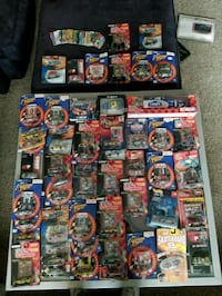 assorted plastic toy collection in boxes Harrison charter Township, 48045