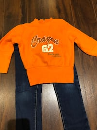 jeans (ZARA-Size 3-4) and top (size 4-made small!) Laval, H7P 3B6
