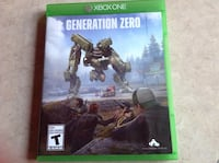 Generation Zero Xbox One  Oakville, L6L