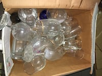 clear glass bowl lot in box Garden City, 31408