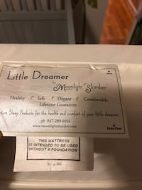 Little dreamer baby mattress by moonlight slumber originally 200 Kensington, 20895