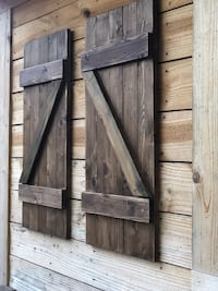 Reclaimed wood shutters home decor  Centreville, 20120