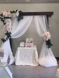 Wedding decoration Edmonton