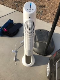 white and gray tower fan Bakersfield, 93313
