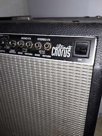 black and gray Roland guitar amplifier Banning, 92220