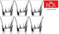 crystal mixer glasses vodka cups 6 glasses 2244 mi