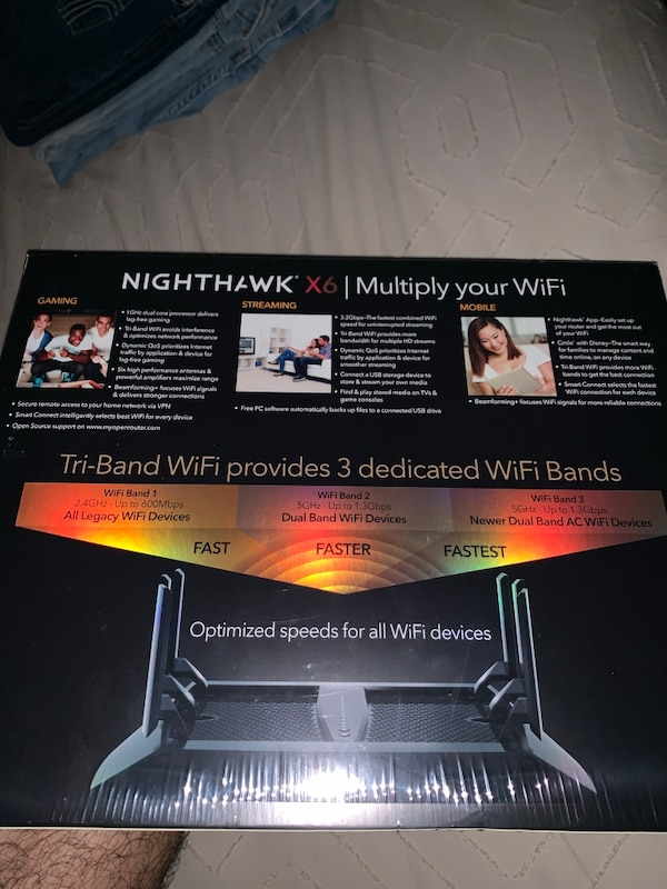Tri-Band WiFi Router