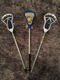 """(3) 30"""" Fiddle Stx with tennis ball.  Sewell, 08080"""
