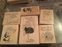 Stampin' Up Teacher Stamps. Comes with 2 stamp pads. Woodbridge