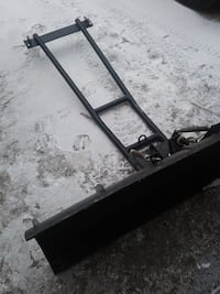 ATV blade, blade turns, brackets are there.