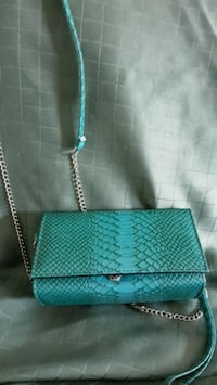 Teal wristlet with added removable shoulder strap Sykesville, 21784