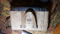 Multicompartment bag with strap