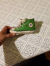 pjäs unpaired green Converse high-top sneaker Malmö, 214 24