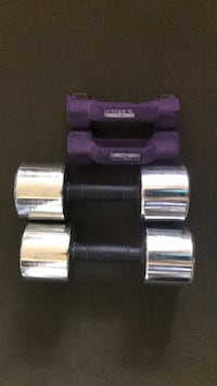 2 dumbbell sets: 25-lb and 5-lb Arlington, 22203