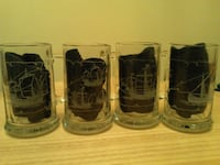 4 pcs collectable mugs KING
