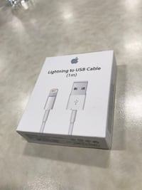 NEW and sealed Apple lightning to usb cable box Edmonton, T6E 2V8