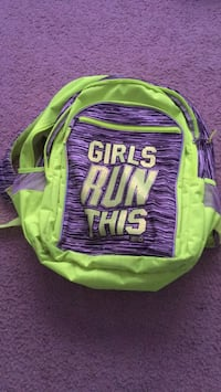 Girls Run This Backpack Frederick, 21701
