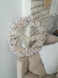 beige and brown fabric wreath Ontario, L0R 2C0
