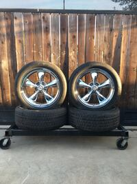 Chevy Truck 20 in. Wheels with Good Year Eagle II Tires P275/45-20 Pleasanton, 94566