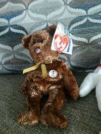 brown bear TY Beanie Baby East Haven, 06512