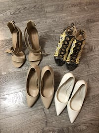 Women shoes size 8 all for $80 Toronto