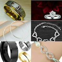 Mens and womens jewelery