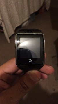 black and silver smart watch Burke, 22015