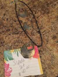 Silpada Necklace and Earrings Wichita, 67217