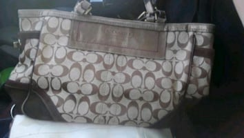 womens coach purse great condition