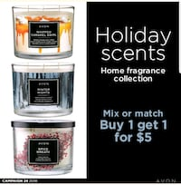 Lots of candles.  2 for $25 Edmonton, T6M 2G7