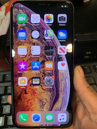 Iphone x max 64g rose gold brand new.