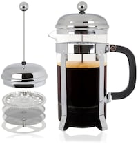 New All-in-1 French Press Coffee Maker Spring