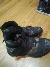 Camouflage basketball shoes