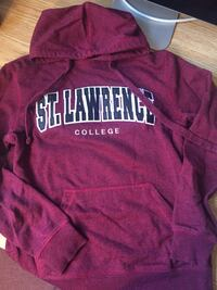 St. Lawrence College hoodie Kingston, K7M 5V6