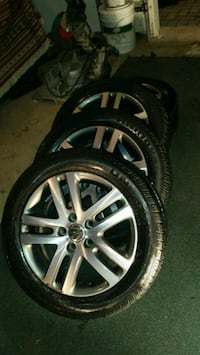 "Volkswagen Rims with UniRoyal tires 16""  Hamilton, L9G 4W5"