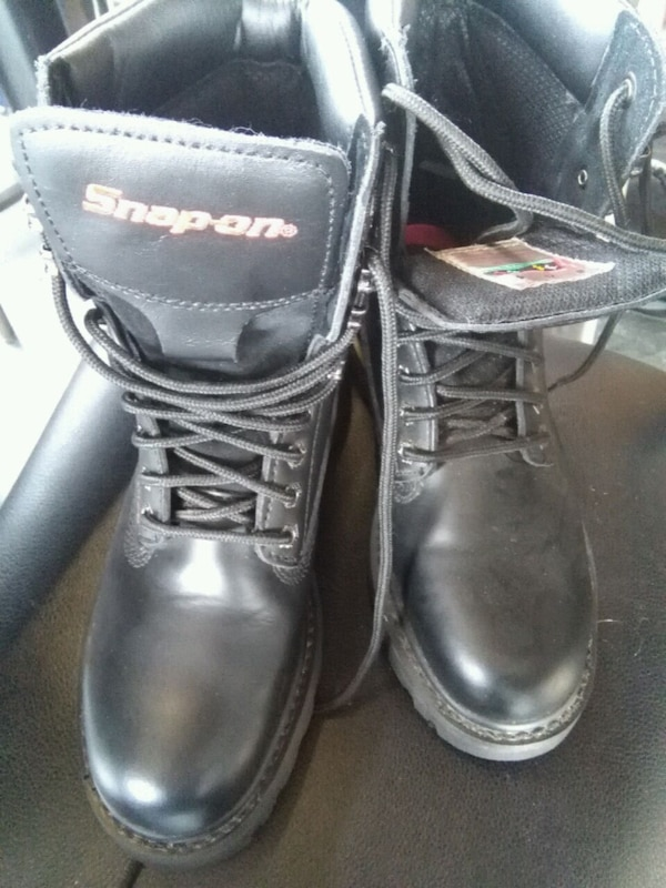 6534e4d6627 Snap-on Super V8, 8-Inch Steel Toe Work Boot