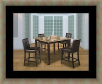 brown wooden dining table set Alexandria, 22306