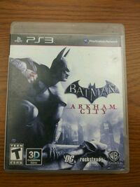 Batman Arkham City PS3 Washington