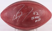 "Ray Lewis Signed Ravens Offical Super Bowl XXXV Game Ball Inscribed ""SB XXXV MVP"" Reston, 20191"