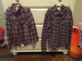 Girls Flannel Shirts